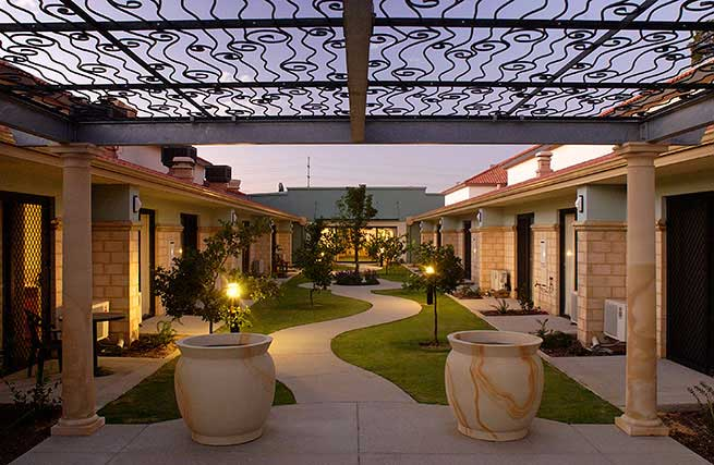 Regents Garden Lake Joondalup Residential Resort Perth WA